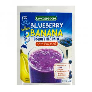 Concord Blueberry Banana Smoothie Mix