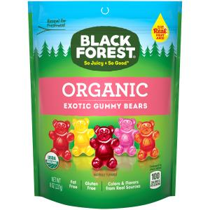 Black Forest Organic Exotic Gummy Bears