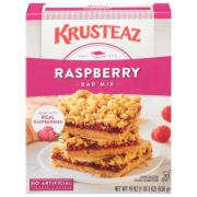 Krusteaz Raspberry Bars Mix