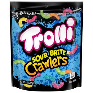 Trolli Sour Brite Crawlers Mini Original Gummi Candy