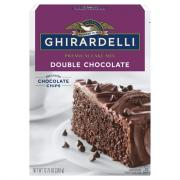 Ghirardelli Double Chocolate Cake Mix