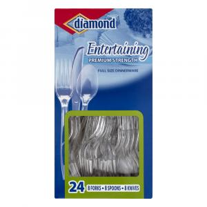 Diamond Entertaining Cutlery