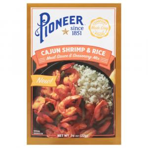 Pioneer Cajun Shrimp & Rice Meal Sauce & Seasoning Mix