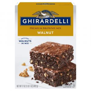 Ghirardelli Walnut Brownie Mix