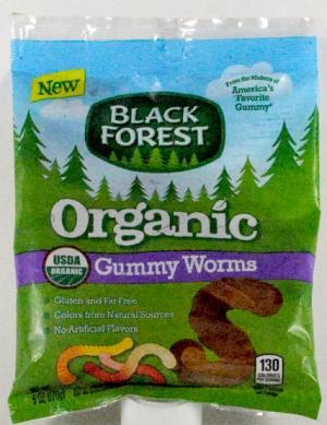 Black Forest Organic Gummy Worms