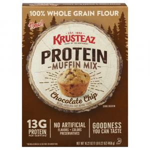 Krusteaz Chocolate Chip Protein Muffin Mix