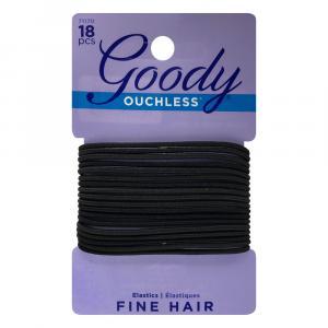 Goody Black Braided Elastics