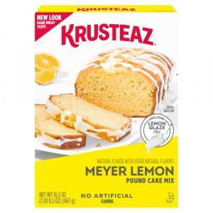 Krusteaz Meyer Lemon Pound Cake