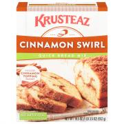 Krusteaz Cinnamon Swirl Quick Bread