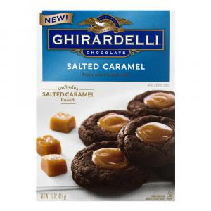 Ghirardelli Salted Caramel Cookie Mix