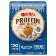 Krusteaz Wild Blueberry Protein Muffin Mix