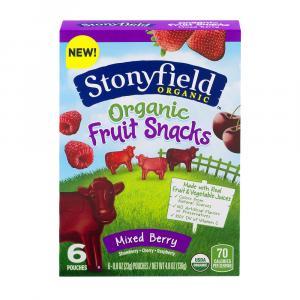 Stonyfield Organic Mixed Berry Fruit Snacks
