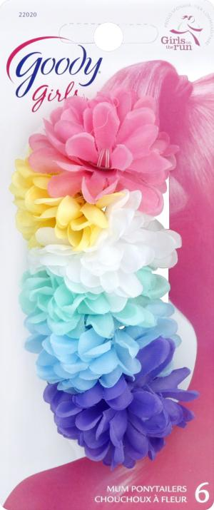 Goody Glam Girls Flower Ponytailers Elastics