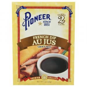 Pioneer French Dip Au Jus Gravy Mix