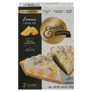 Edwards Lemon Creme Pie Slices