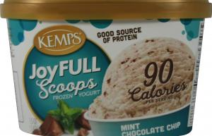 Kemp's Joyfull Scoops Mint Chocolate Chip Frozen Yogurt