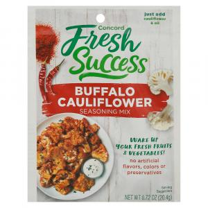 Concord Fresh Success Buffalo Cauliflower Seasoning Mix