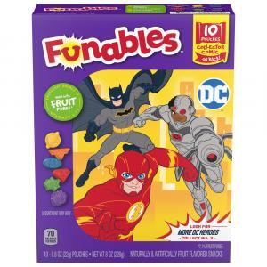 Funnables Dc Heroes Fruit Snacks