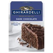 Ghirardelli Dark Chocolate Cake Mix