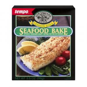 Tempo Lemon Dill Seafood Bake Mix