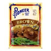 Pioneer Brand Brown Gravy Mix