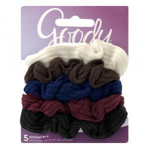 "Goody 1"" Jersey Scrunchies"