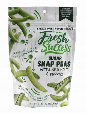 Fresh Success Snap Peas & Sea Salt and Pepper