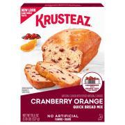 Krusteaz Cranberry Orange Quick Bread