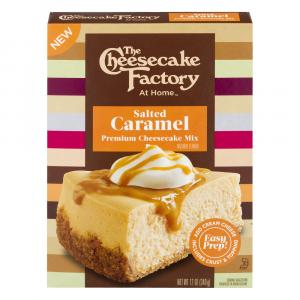 The Cheesecake Factory At Home Salted Caramel Cheesecake Mix