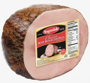 Sugardale Semi Boneless Half Ham