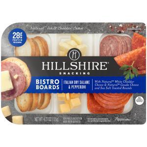 Hillshire Farm Snacking Bistro Board Italian Dry Salame &