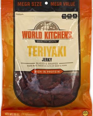 World Kitchens Teriyaki Jerky