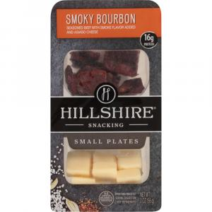 Hillshire Farms Smoked Bourbon Beef With Asiago Snacker