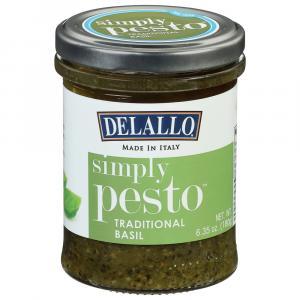 Delallo Simply Pesto Traditional Basil Sauce