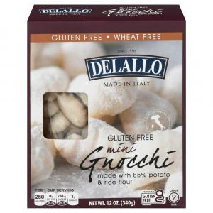 Delallo Gluten Free Mini Gnocchi