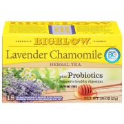 Bigelow Lavender Chamomile Herbal Tea plus Probiotics