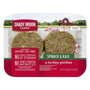 Shady Brook Farms Spinach & Kale Turkey Patties
