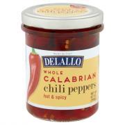 DeLallo Whole Calabrian Chili Peppers