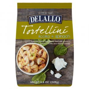 DeLallo Tortellini Ricotta and Spinach
