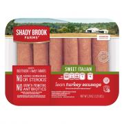 Shady Brook Farms Sweet Italian Sausage
