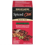 Bigelow Decaf Spiced Chai Tea Bags