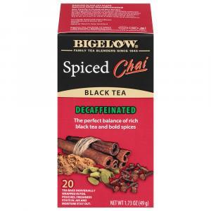 Bigelow Decaf Spiced Chai Tea Bags