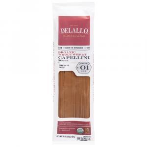 DeLallo Organic Whole Wheat Capellini # 1