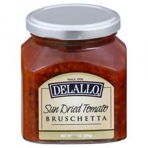 Delallo Sun-Dried Tomato Bruschetta
