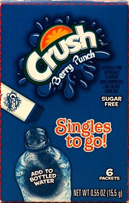 Crush Berry Punch Singles To Go!