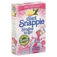 Snapple Singles To Go Diet Pink Lemonade
