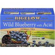 Bigelow Wild Blueberry Acai Tea Bags