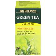 Bigelow Decaf Tea Bags with Lemon