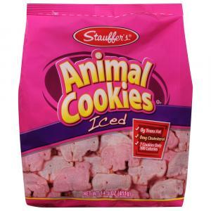 Stauffer's Animal Iced Cookies