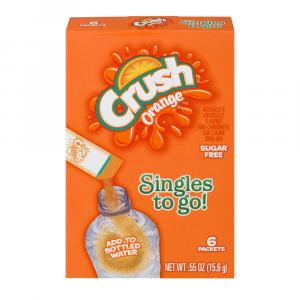 Crush Orange Powder Drink Mix